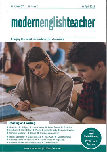 Cover of Modern English Teacher - April 2018
